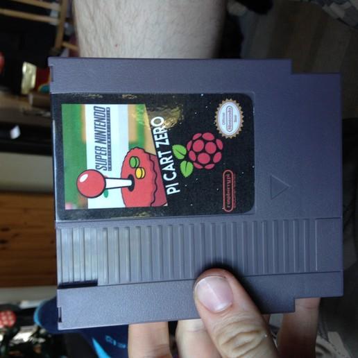 Télécharger fichier STL gratuit Pi Zero NES Cart Amazon USB HUB, rushmere3d