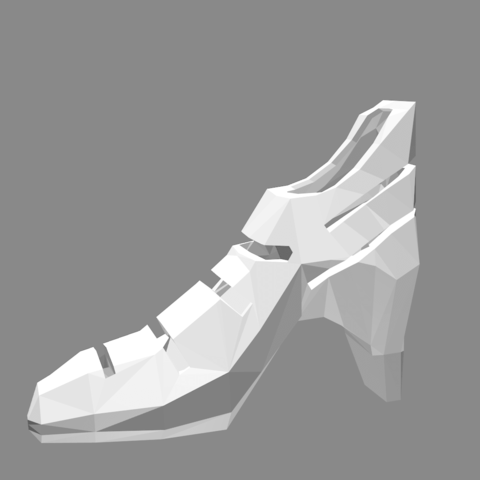 Free 3D model Heel shoes, sinde