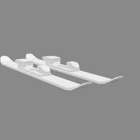 ski2.png Download free STL file Freeride skiing • 3D printable model, sinde