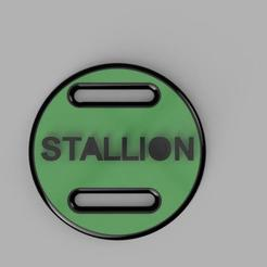 stallion render.jpg Download STL file Stallion identification plate  • 3D print template, Chiba08