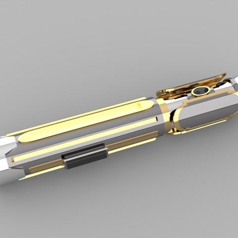 Télécharger fichier imprimante 3D gratuit Sabre laser Old Republic, alexandermackay123