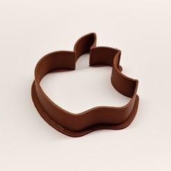 Download 3D printer designs APPLE - Gingerbread cookie cutter_by Pasa, starpike