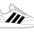Adidas Iniki.png Télécharger fichier STL Adidas INIKI • Plan imprimable en 3D, gaspex