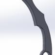 Download free 3D printing templates Karambit knife, Urob0roSs