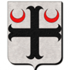 Download free 3D printer templates Coat of arms Mauvières France, gregorycomblez