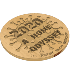 2020 A HOME ODYSSEY v4.png Download STL file 2020 A HOME ODYSSEY - COVID19 - COVID • Model to 3D print, EDuraton