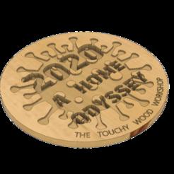 2020 A HOME ODYSSEY v4.png Télécharger fichier STL 2020 A HOME ODYSSEY - COVID19 - COVID • Objet pour impression 3D, EDuraton