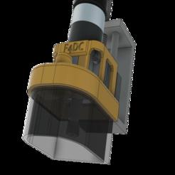PORTE_CACHE_POUSSIERE_V2_v8_9.png Download free STL file NEW - DUST-SHOE JACKET HOLDER - V2 • 3D print model, EDuraton