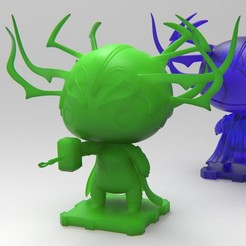 Download free 3D printer designs Hela (Thor Ragnarok), purakito