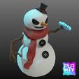 Free 3D print files Holiday Special 2! JACK FROST!, purakito