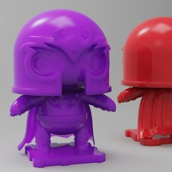 Free 3D printer files X-MEN 90s Magneto, purakito