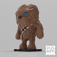 Modelos 3D gratis StarWars Chewbacca, purakito