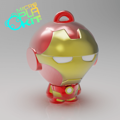 Free 3D printer designs Iron Man (MicroPlaKit Series), purakito