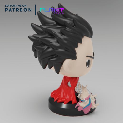 Descargar Modelo 3D Gratis TETSUO De Akira (FREEBIE) ・ Cults