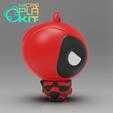 Télécharger fichier impression 3D gratuit DeadPool (Série MicroPlaKit), purakito