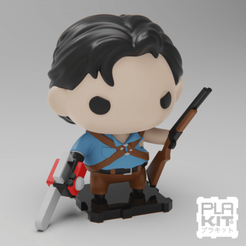 Free 3D printer model Evil Dead ASH, purakito