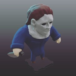 Free 3d printer model Halloween MICHAEL MYERS, purakito