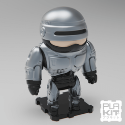 Free 3D printer model ROBOCOP (CLASSIC Ver.), purakito