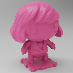 Download free 3D printer designs Prince Adam (Masters of the Universe), purakito