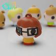 Download free 3D printing templates Scooby-Doo! Set (MicroPlaKit Series), purakito