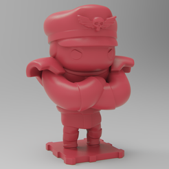 Free 3D print files Street Fighter M.BISON, purakito