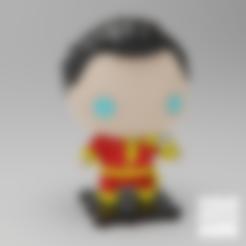 Download free 3D model DC Shazam!, purakito