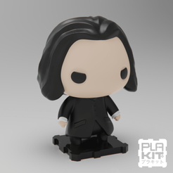Free STL file Harry Potter's Severus Snapes, purakito