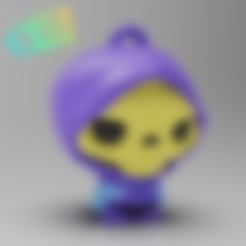 Descargar archivos 3D gratis Skeletor Masters of the Universe (Serie MicroPlaKit), purakito