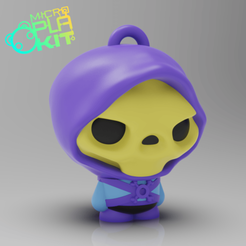 Download free 3D printing templates Skeletor Masters of the Universe (MicroPlaKit Series), purakito