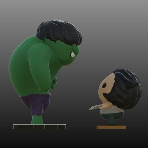purakito free 3d printer files marvel the hulk