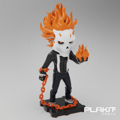 Free 3D printer model Ghost Rider (Agents of SHIELD Version), purakito