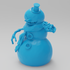 Download free 3D printer files Holiday Special 2! JACK FROST!, purakito