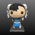 Free STL files Street Fighter CHUN LI, purakito