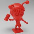 Free 3D printer model El Chapulin Colorado (Chapolin Colorado), purakito