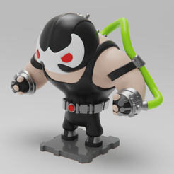 Free 3D printer files BANE (DC COMICS), purakito