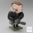 Download free 3D printer templates Terminator 2 T800, purakito