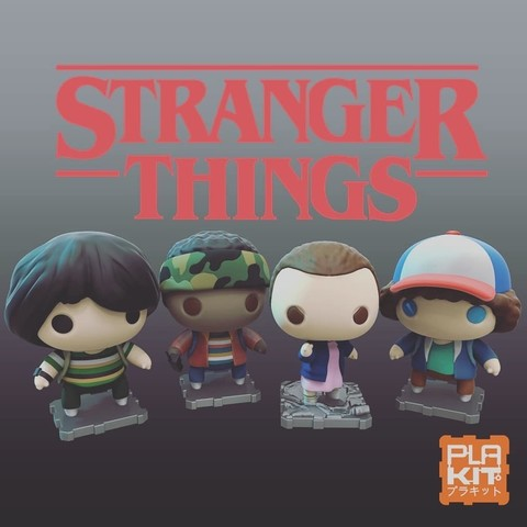 Free 3D printer model Stranger Things Season One Set, purakito