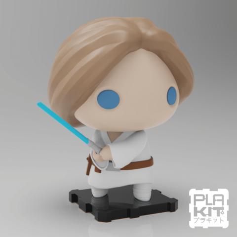 STL gratis StarWars Luke Skywalker, purakito
