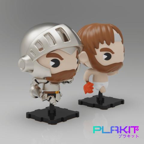 Free 3D model GHOST 'N GOBLINS, purakito