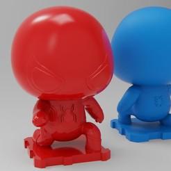 Download free 3D printer files Spider-Man HomeComing Version, purakito