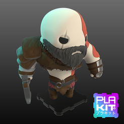 Free stl file God Of War KRATOS, purakito