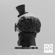 Free 3D printer designs Penguin '92 (Batman Returns), purakito