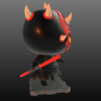 Free STL files Star Wars DARTH MAUL!!, purakito