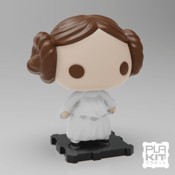 Télécharger fichier STL gratuit StarWars Princess Leia Organa[UPDATED], purakito