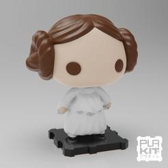 Archivos 3D gratis La princesa Leia Organa de StarWars., purakito