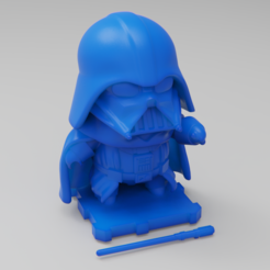 Free STL file Star Wars DARTH VADER!, purakito