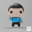 Free 3D model Star Trek SPOCK, purakito