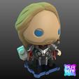Descargar Modelos 3D para imprimir gratis THOR Age of Ultron Versión, purakito