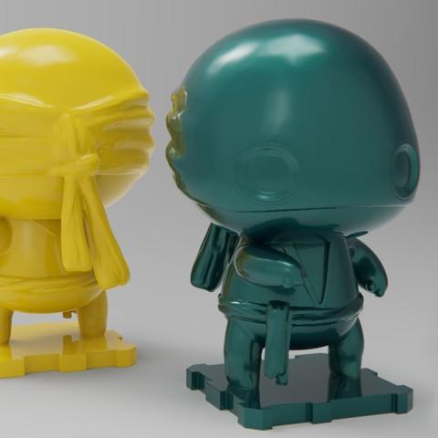 Imprimir en 3D gratis Marvel Classics Puño de Hierro, purakito