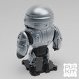 Free 3D printer model ROBOCOP (CLASSIC Ver.), purakito
